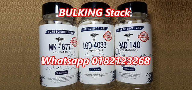 Advanced Bulking Stack with RAD140 Testolone, LGD4033 Ligandrol, MK677 Nutrobal